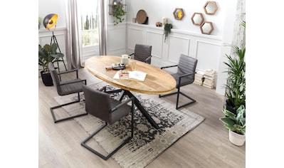 SIT Esstisch »Tops&Tables«, mit ausdrucksstarker Tischplattte aus Akazie kaufen