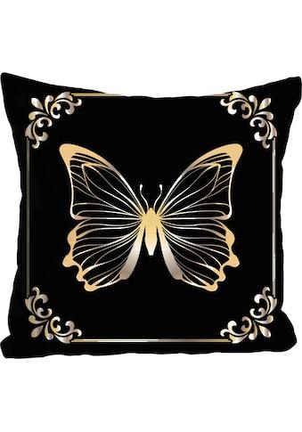 queence Kissenhülle »Pascal«, (1 St.), mit Schmetterling kaufen