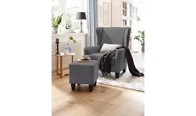 Home affaire Sessel »Chilly«, mit bequemer Federkern-Polsterung, in drei... kaufen