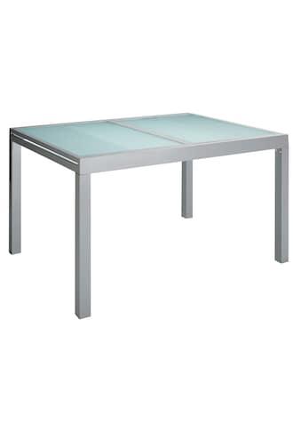 MERXX Gartentisch »Lima«, Aluminium, ausziehbar, silber kaufen