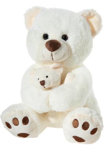 Heunec® Kuscheltier »Bär mit Baby, creme« kaufen