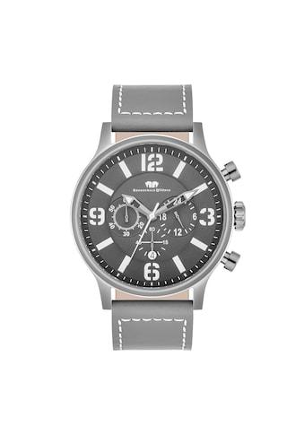 Rhodenwald & Söhne Chronograph »RWS011«, (1 tlg.), Armband aus Echtleder kaufen