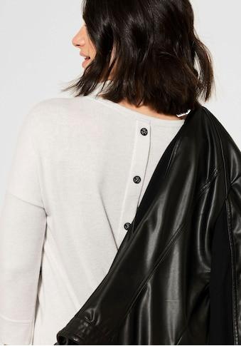 Cecil V-Shirt, mit Zierknopfleiste im Rückenteil kaufen
