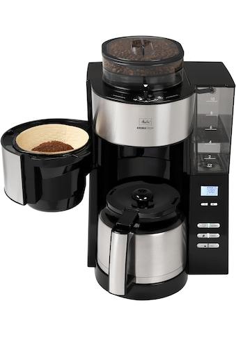 Melitta Kaffeemaschine mit Mahlwerk »AromaFresh Therm 1021-12 schwarz«, Papierfilter, 1x4 kaufen