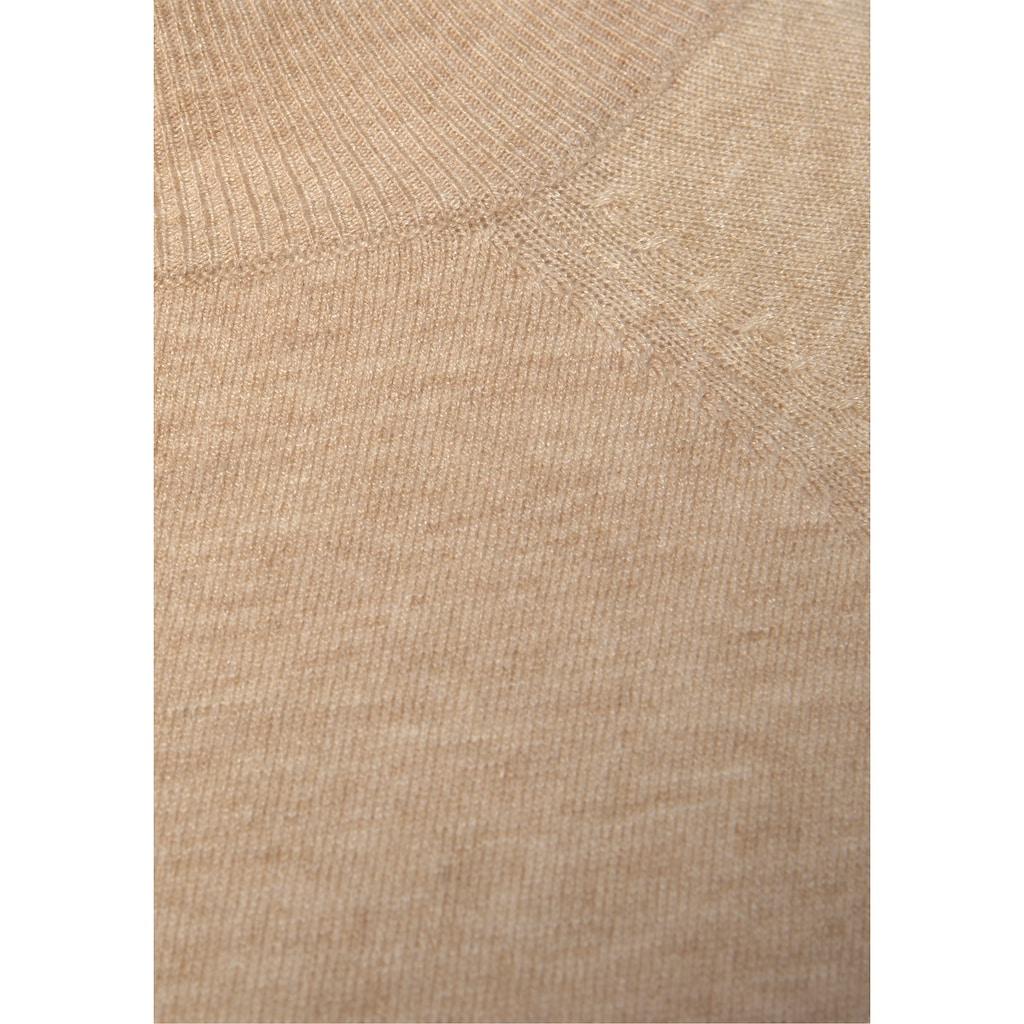 LASCANA Strickkleid, mit Rollkragen