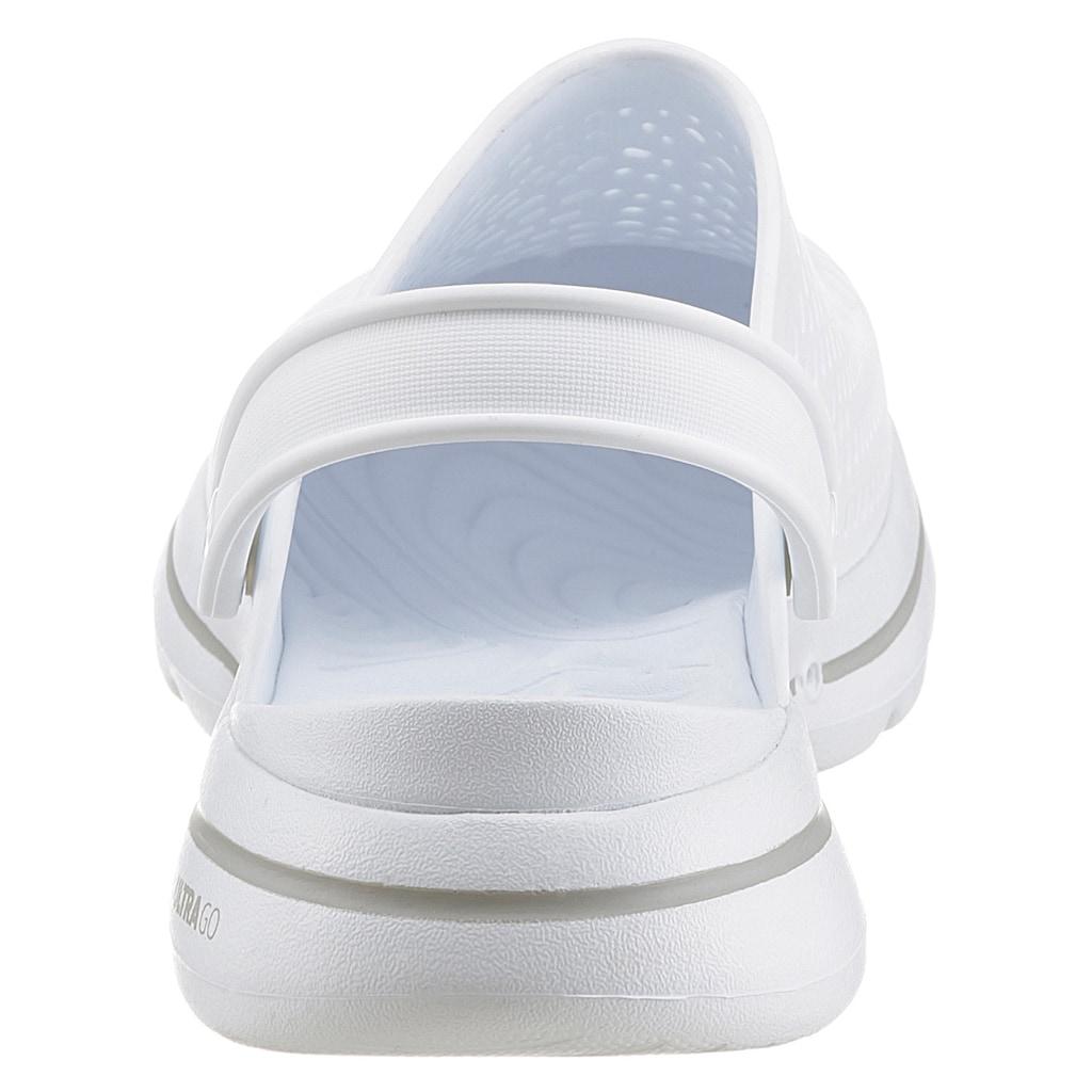 Skechers Clog »Go Walk 5«, mit verstellbarem Riegel