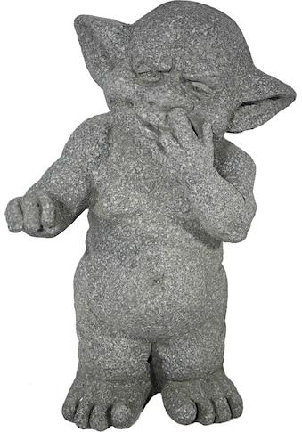 Casa Collection by Jänig Dekofigur, Troll mit Finger in der Nase, steinoptik H 38 cm kaufen