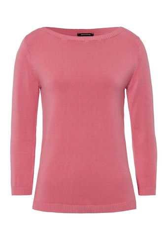 MORE&MORE Rib - Collar Detailed Pullover Active kaufen