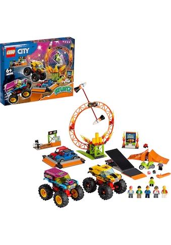 LEGO® Konstruktionsspielsteine »Stuntshow-Arena (60295), LEGO® City Stuntz«, (668... kaufen