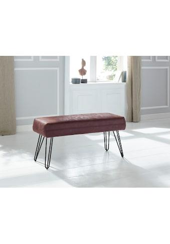 exxpo - sofa fashion Sitzbank »Doppio«, Frei im Raum stellbar kaufen