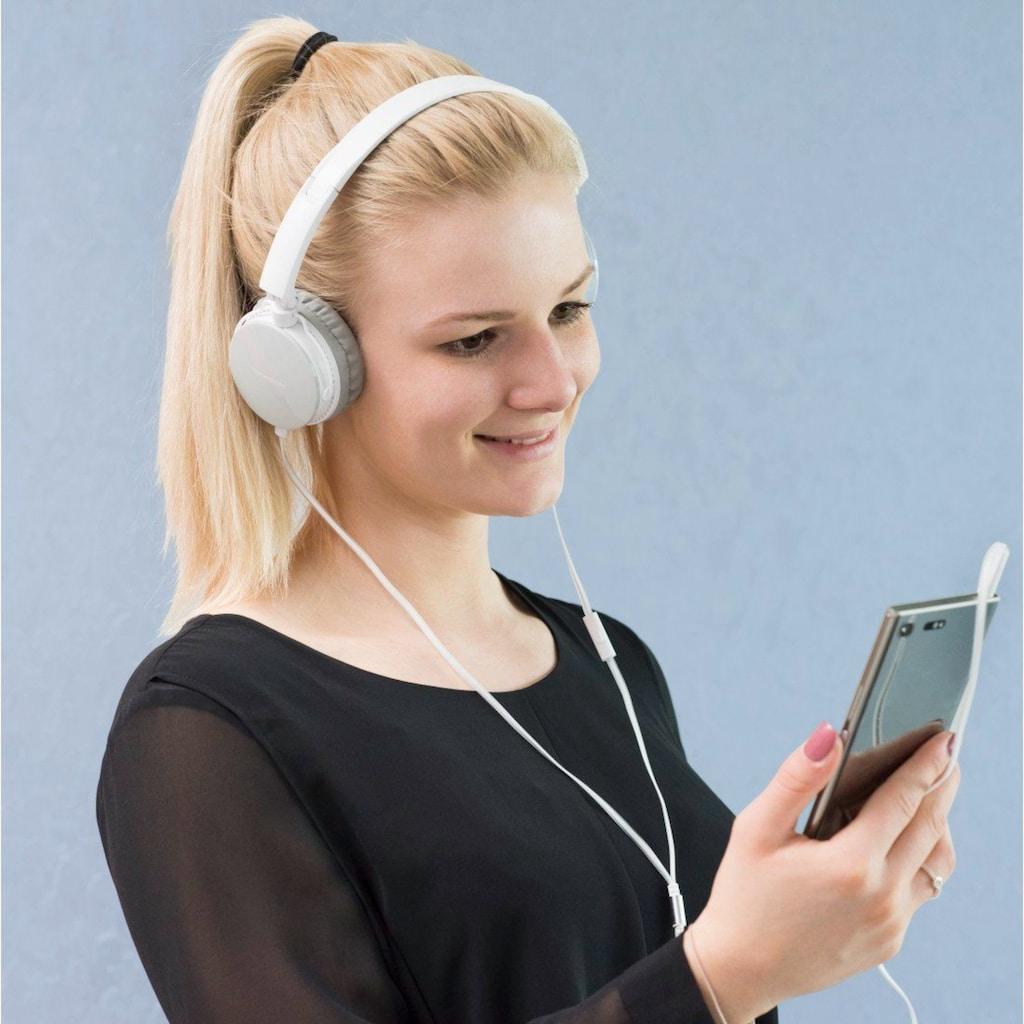 Thomson On-Ear Kopfhörer, Headset, mit flachem Kabel