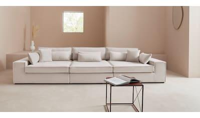 LeGer Home by Lena Gercke 3-Sitzer »Joreen«, 3 Teile, zusammengesetzt aus Modulen, in vielen Bezugsqualitäten und Farben kaufen