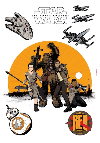 Komar Wandtattoo »Star Wars Resistance«, selbstklebend, rückstandslos abziehbar kaufen