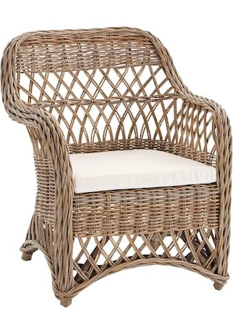 locker Sessel »Kingston«, Rattan kaufen