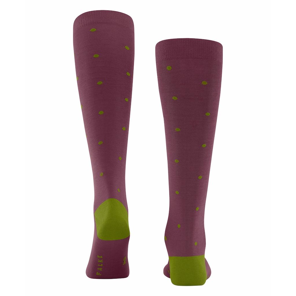 FALKE Kniestrümpfe »Dot«, (1 Paar), mit hoher Farbbrillianz