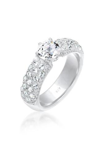 Elli Verlobungsring »Verlobungsring Kristalle 925 Silber« kaufen