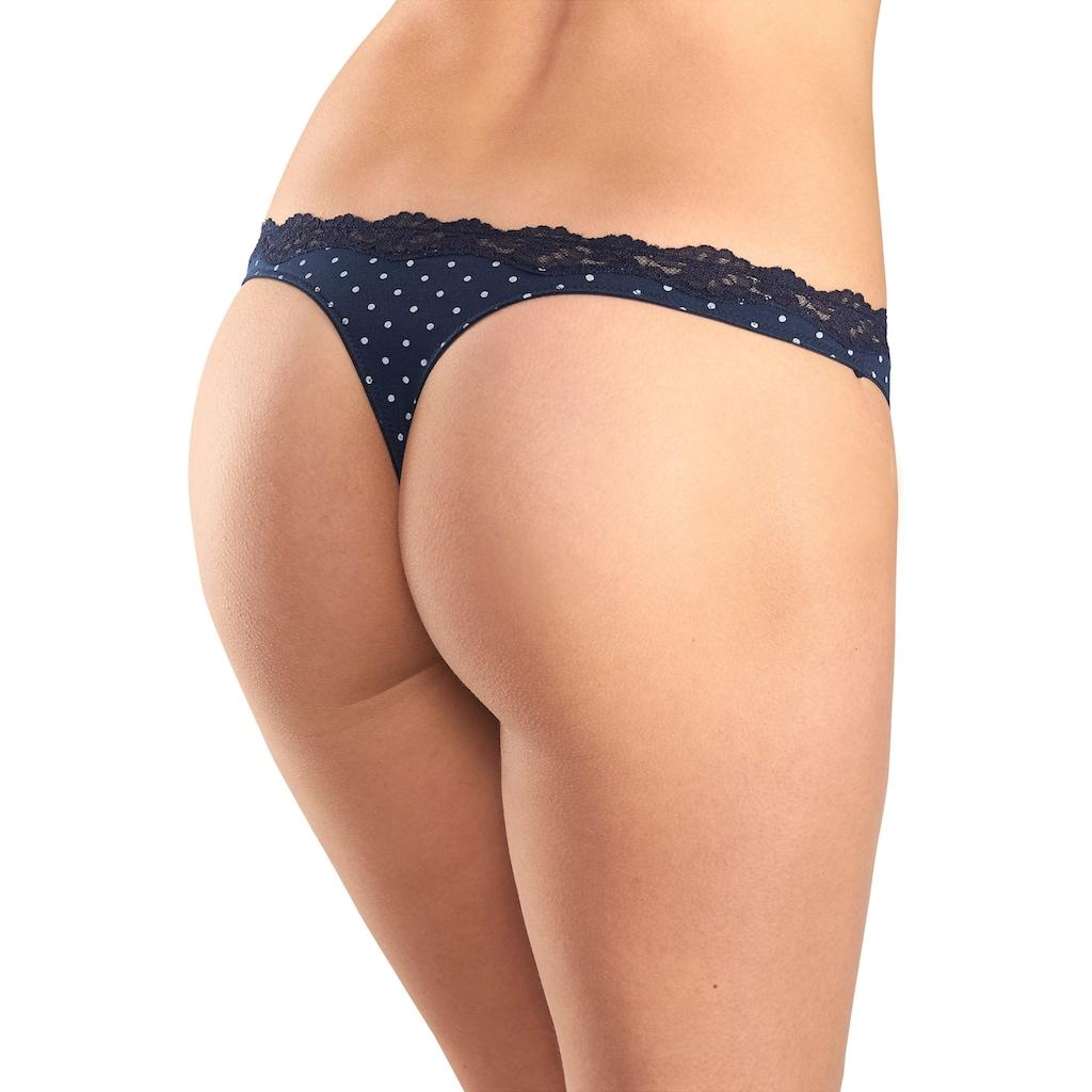 LASCANA String, mit zarter Spitze