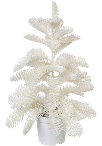 Künstlicher Weihnachtsbaum »Nobilistanne«, Edeltanne, im weißen Topf kaufen