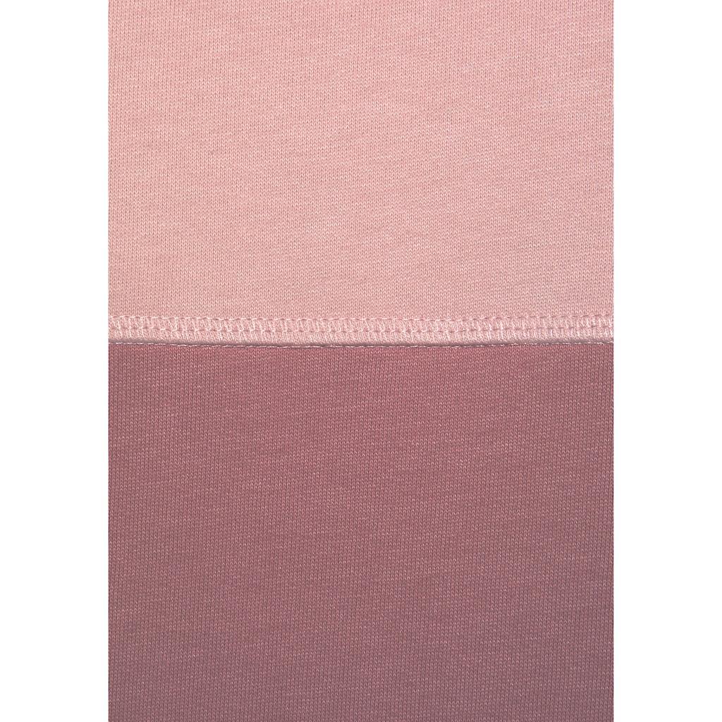 Bench. Sweatshirt, mit Schalkragen