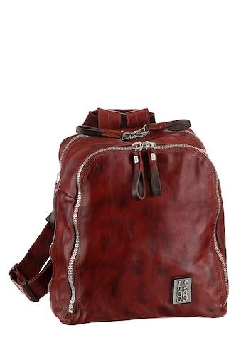 A.S.98 Cityrucksack, aus hochwertigem Leder im Used Look kaufen