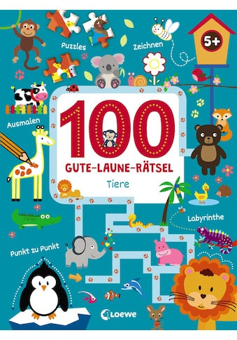 Buch »100 Gute-Laune-Rätsel - Tiere / Joshua Schulz« kaufen