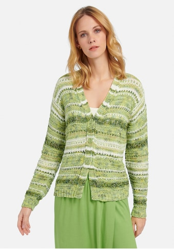 Peter Hahn Strickjacke »cotton«, und Muster kaufen