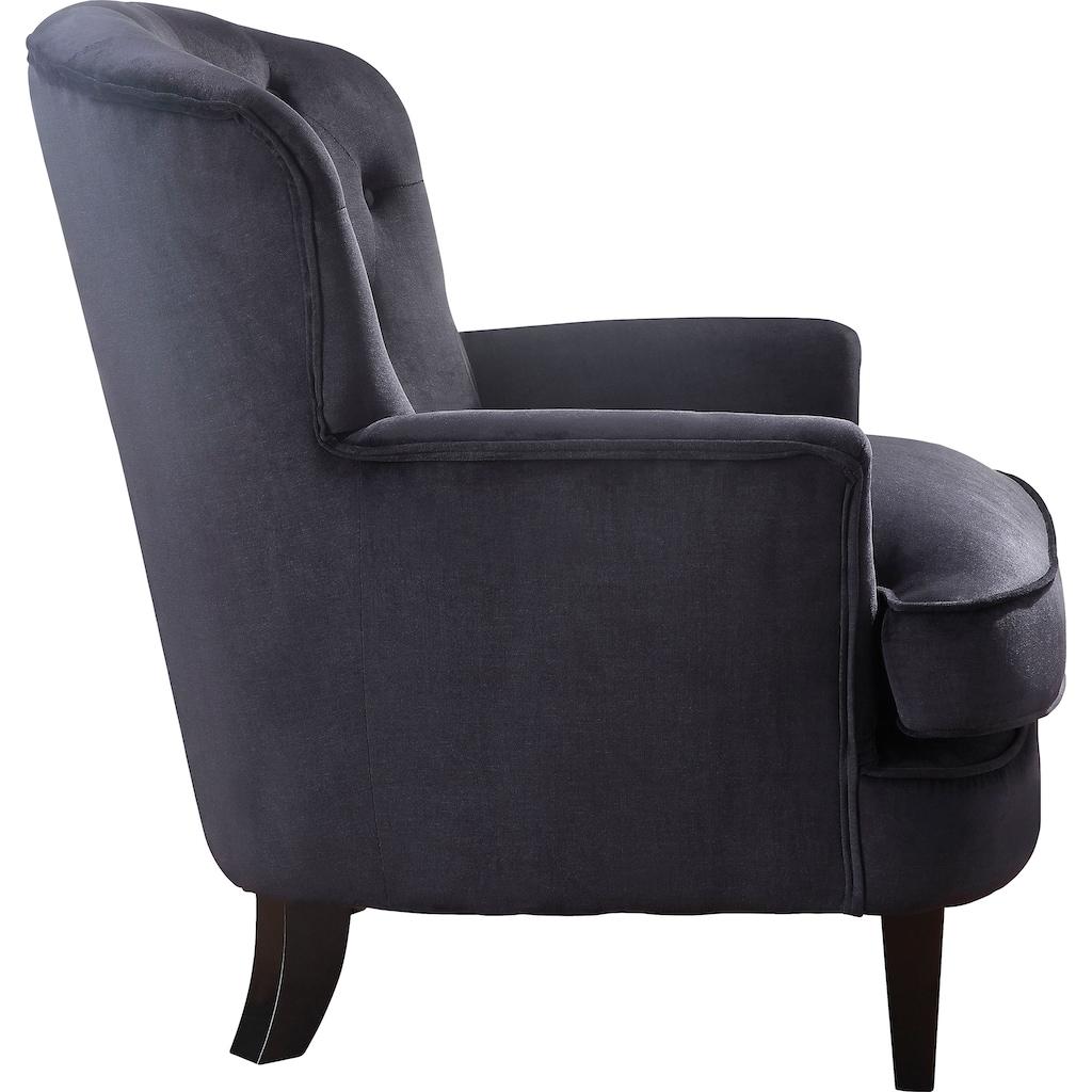 ATLANTIC home collection Sessel, mit Taschenfederkern