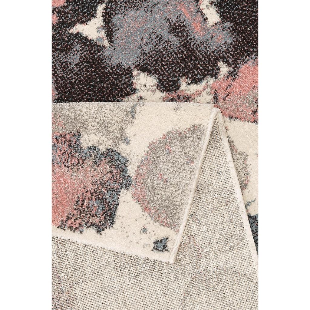 Guido Maria Kretschmer Home&Living Teppich »Sakura«, rechteckig, 13 mm Höhe, Pastellfarben, Wohnzimmer