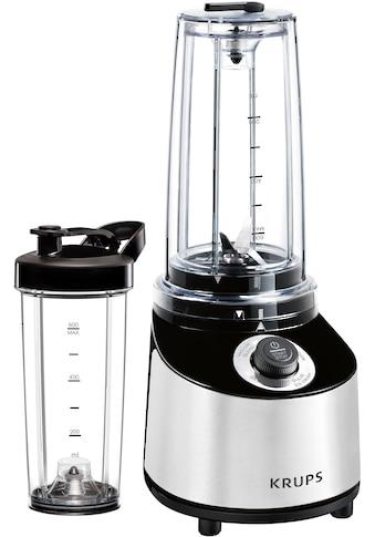 Krups Standmixer »KB181D Freshboost«, 800 W, To Go mit Vakuum Technologie, 4... kaufen