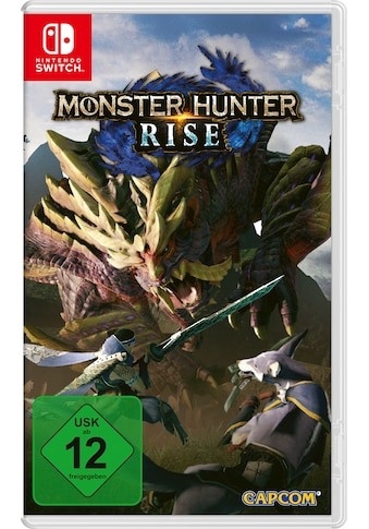 Nintendo Switch Spiel »Monster Hunter Rise«, Nintendo Switch kaufen
