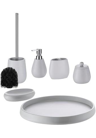 welltime Badaccessoires-Sets »Avan«, inkl. Ersatzbürstenkopf für WC-Bürste kaufen