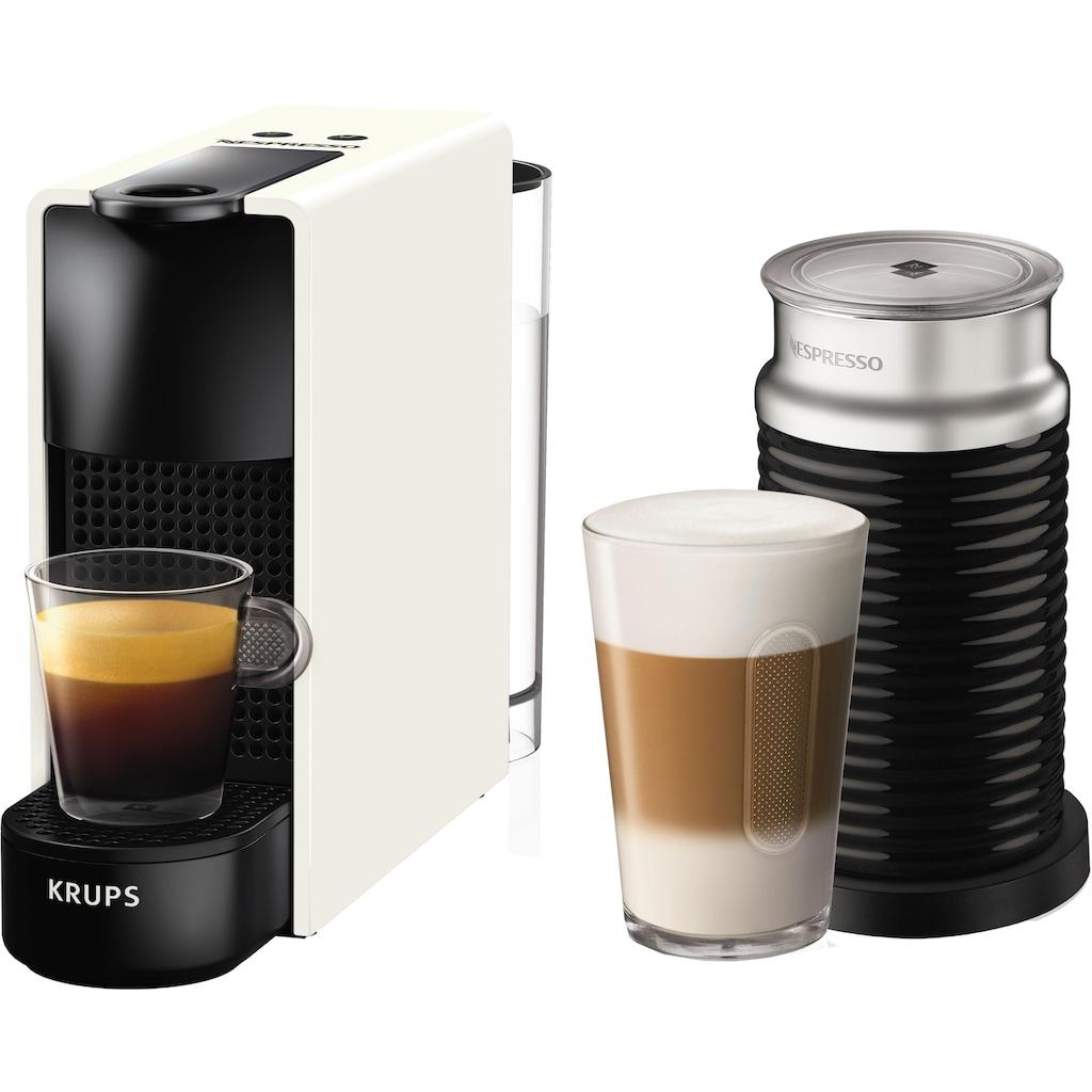 Nespresso Kapselmaschine »NESPRESSO XN1111 Essenza Mini«, mit Aeroccino Milchaufschäumer, 19 bar, sehr kompaktes Deign
