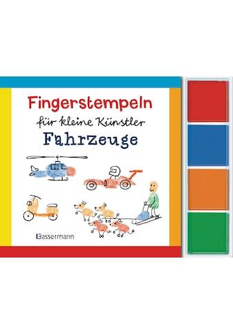 Buch »Fingerstempeln für kleine Künstler-Set - Fahrzeuge / Norbert Pautner« kaufen