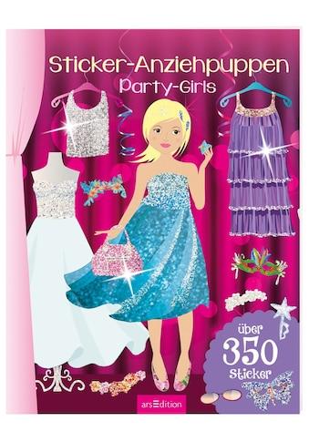 Buch »Sticker-Anziehpuppen - Party-Girls / DIVERSE« kaufen