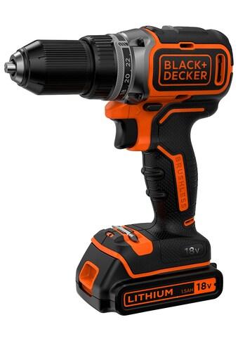 Black + Decker Akku-Bohrschrauber »BL186K / BL186KB«, LED-Arbeitslicht, inkl. Akku kaufen