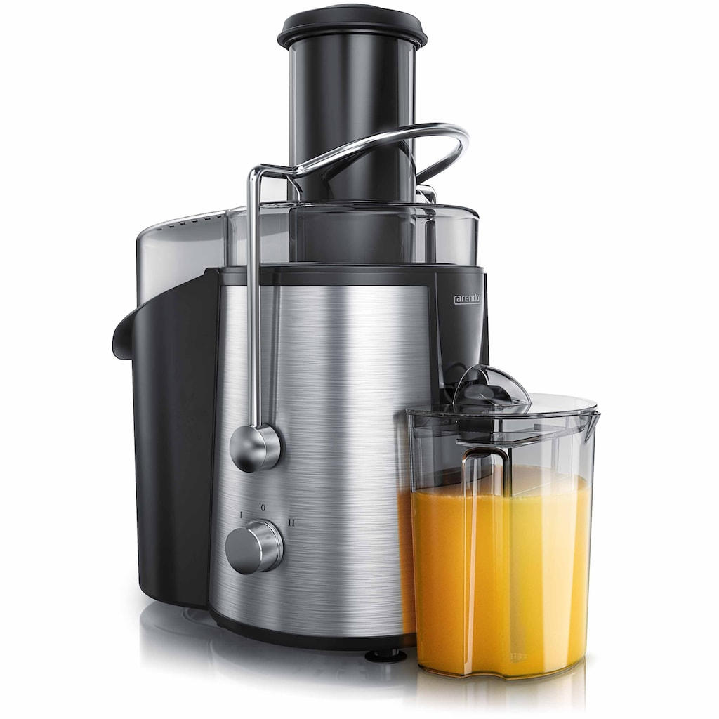 Arendo Entsafter »700ml Saft Behälter & 1700ml Restebehälter«