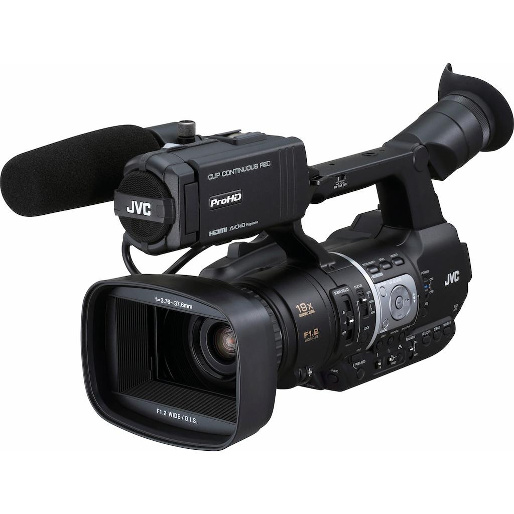 JVC Camcorder »JY-HM360E«, Full HD, 19x opt. Zoom, JVC Dynamic Bright GT