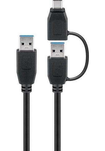 Goobay USB 3.0 Kabel mit 1 USB A auf USB-C(TM)- kaufen