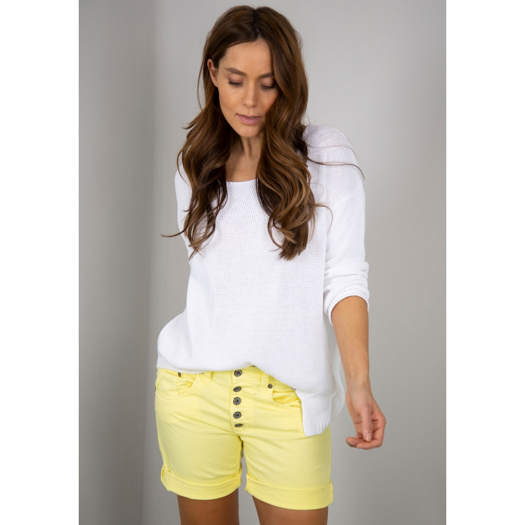 Please Jeans Jeansbermudas »P88A«, Relaxed-Comfort-Fit