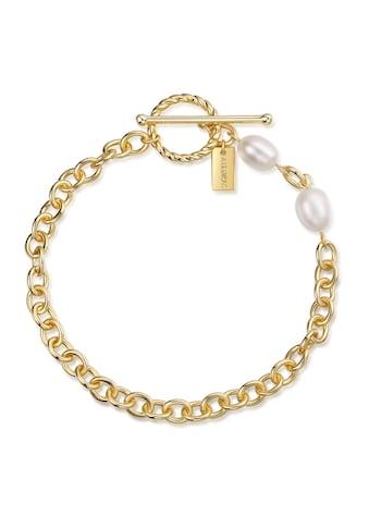 AILORIA Armband »SHOUHEI gold/weiße Perle«, 925 Sterling Silber vergoldet Süßwasserperle kaufen