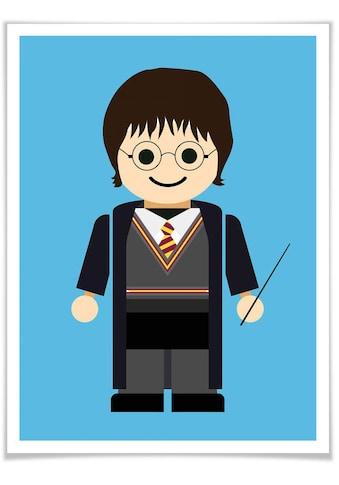 Wall-Art Poster »Playmobil Harry Potter Spielzeug«, Kinder, (1 St.), Poster, Wandbild,... kaufen