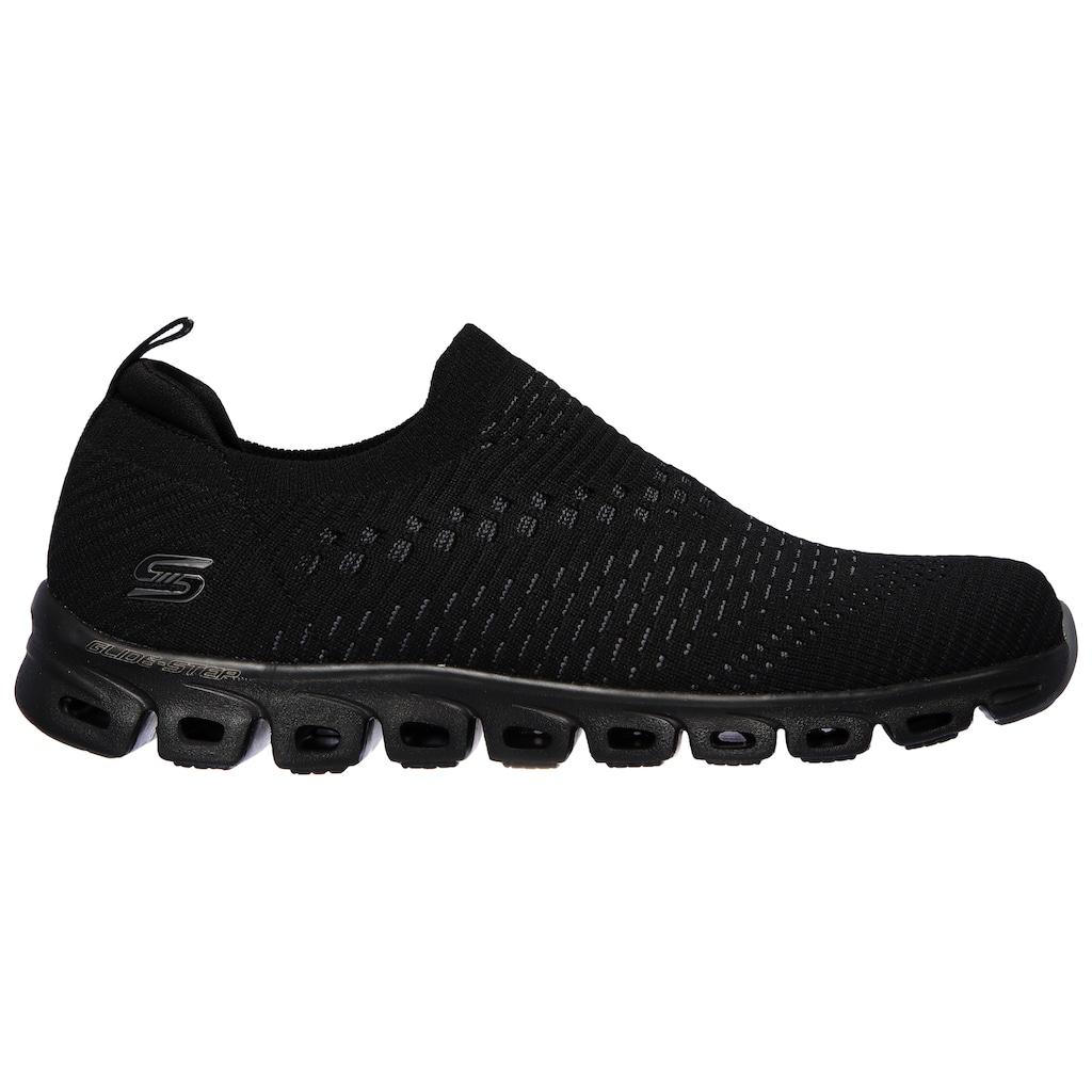 Skechers Slip-On Sneaker »GLIDE-STEP«, mit gepolstertem Fersenpart