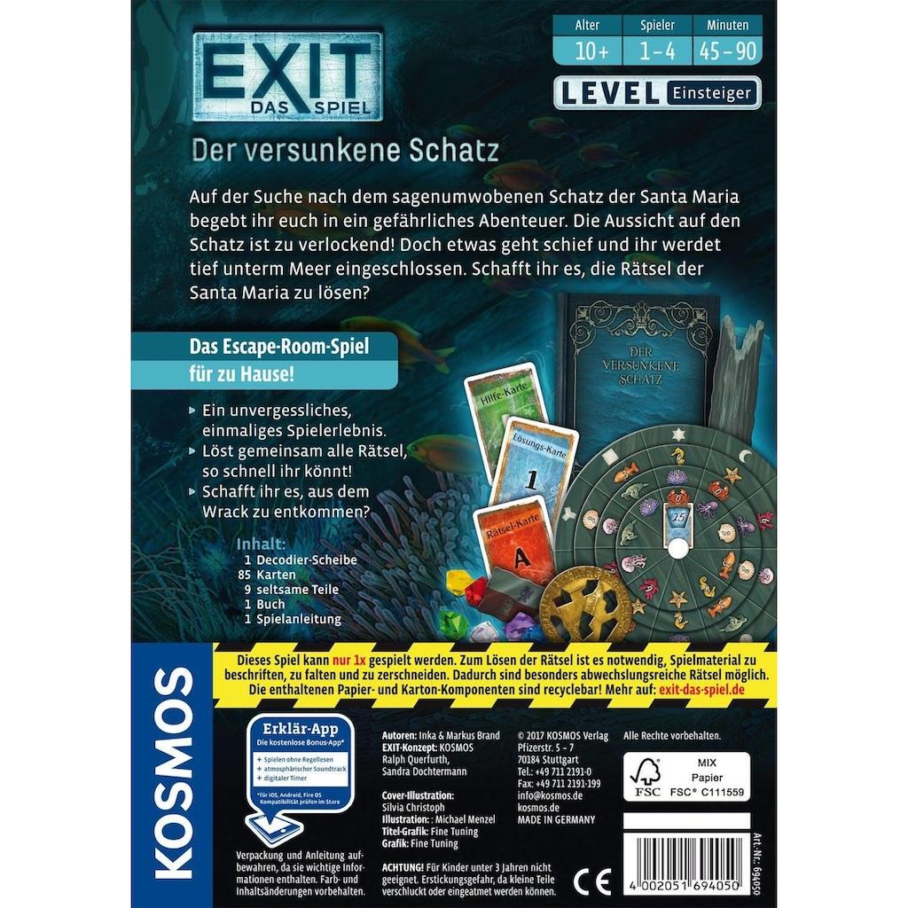 Kosmos Spiel »Exit, Der versunkene Schatz«, Made in Germany