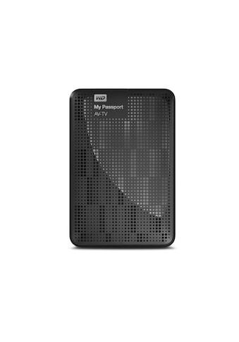 WD externe HDD-Festplatte »TV-Speicher«, MY Passport AV-TV Storage kaufen