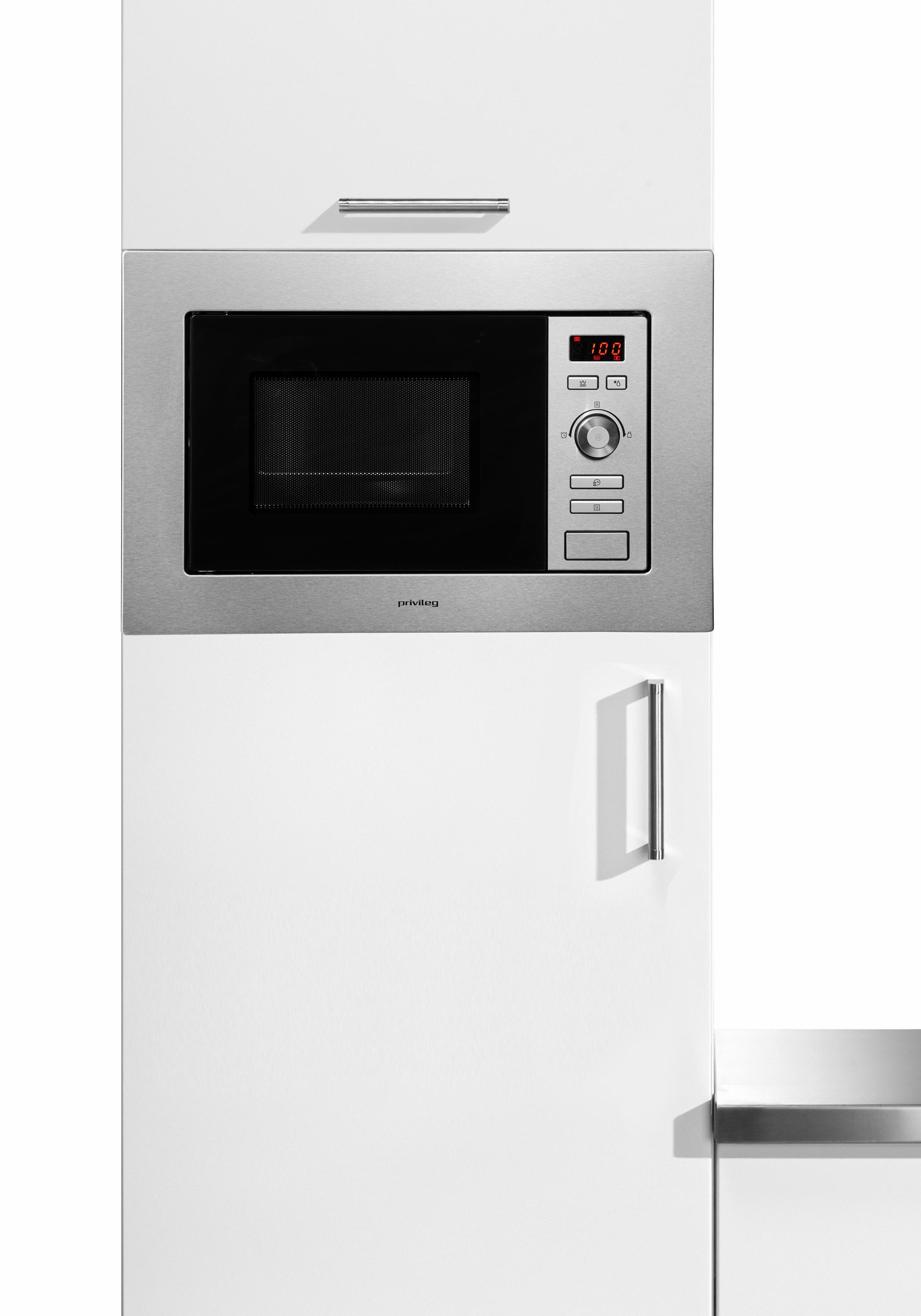 *Privileg Einbau-Mikrowelle »AG820B8Q«, Grill, 800 W*