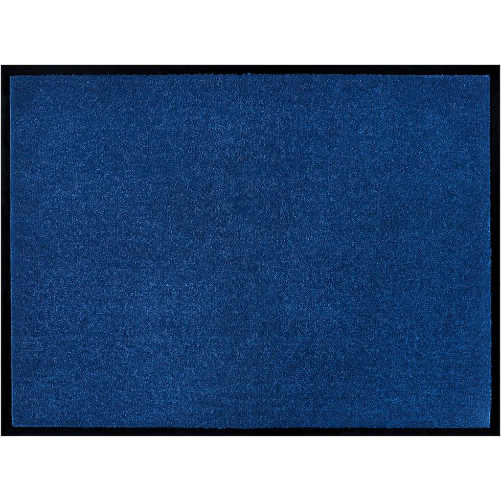 Home affaire Fußmatte »Triton«, rechteckig, 7 mm Höhe, Fussabstreifer, Fussabtreter, Schmutzfangläufer, Schmutzfangteppich, Schmutzmatte, Türmatte, Türvorleger, Schmutzfangmatte, In- und Outdoor geeignet, waschbar