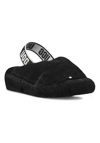 UGG Sandale »Fab Yeah«, mit coolem Gummiband mit Logodruck kaufen