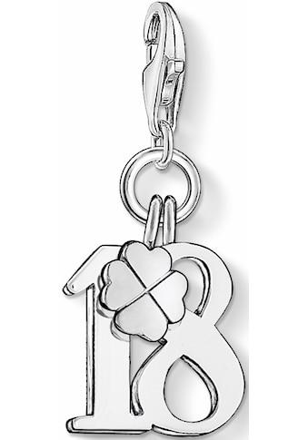 THOMAS SABO Charm-Einhänger »Glückszahl 18, 0473-001-12« kaufen