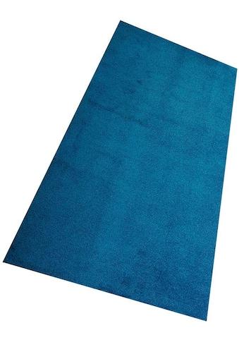 Living Line Teppich »Burbon«, rechteckig, 10 mm Höhe, Velours, Wohnzimmer kaufen