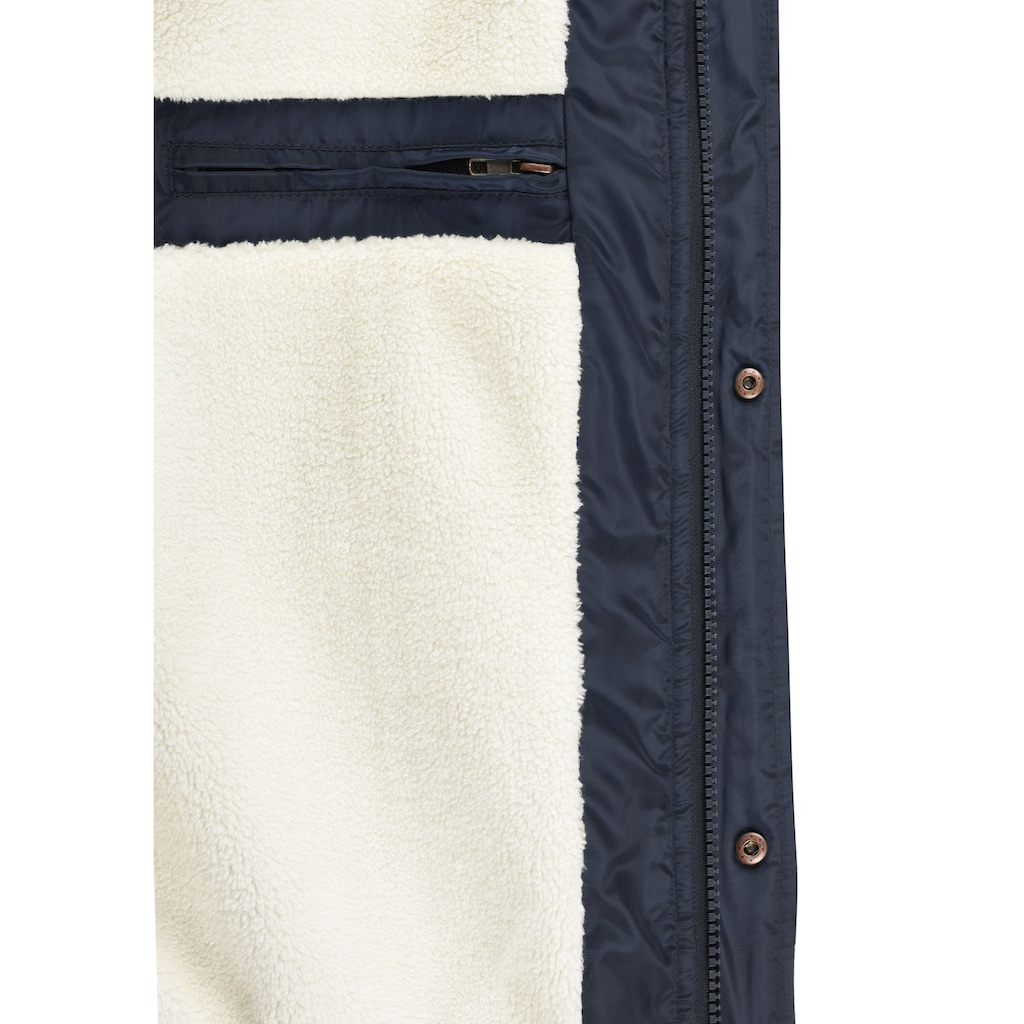 Blend Steppjacke »Frederico«, warme Jacke mit abnehmbarer Kapuze